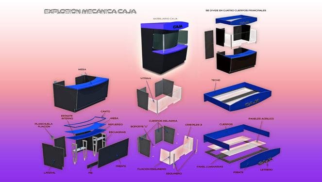 Mobiliario caja para sala de juegos for Mobiliario de diseno