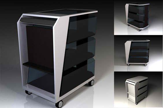 Dise o industrial para mobiliario hotelero for Mobiliario de diseno